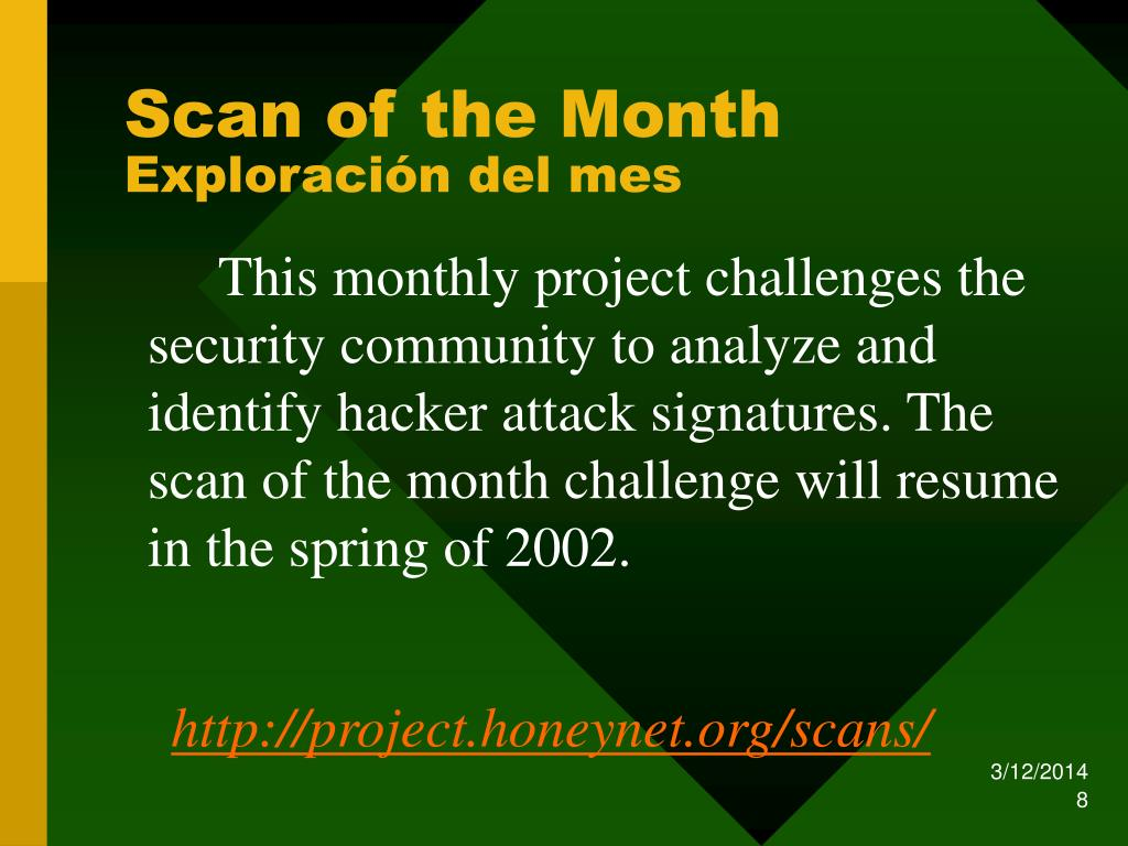 Scan of the Month