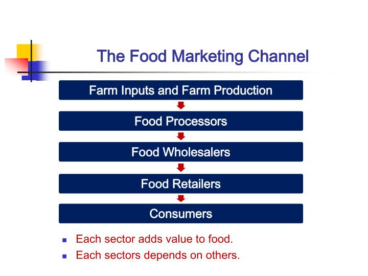 The food marketing channel