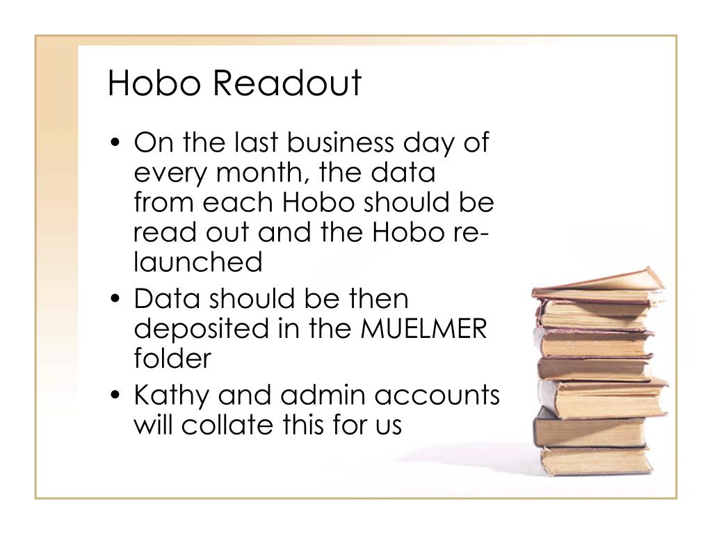 Hobo Readout