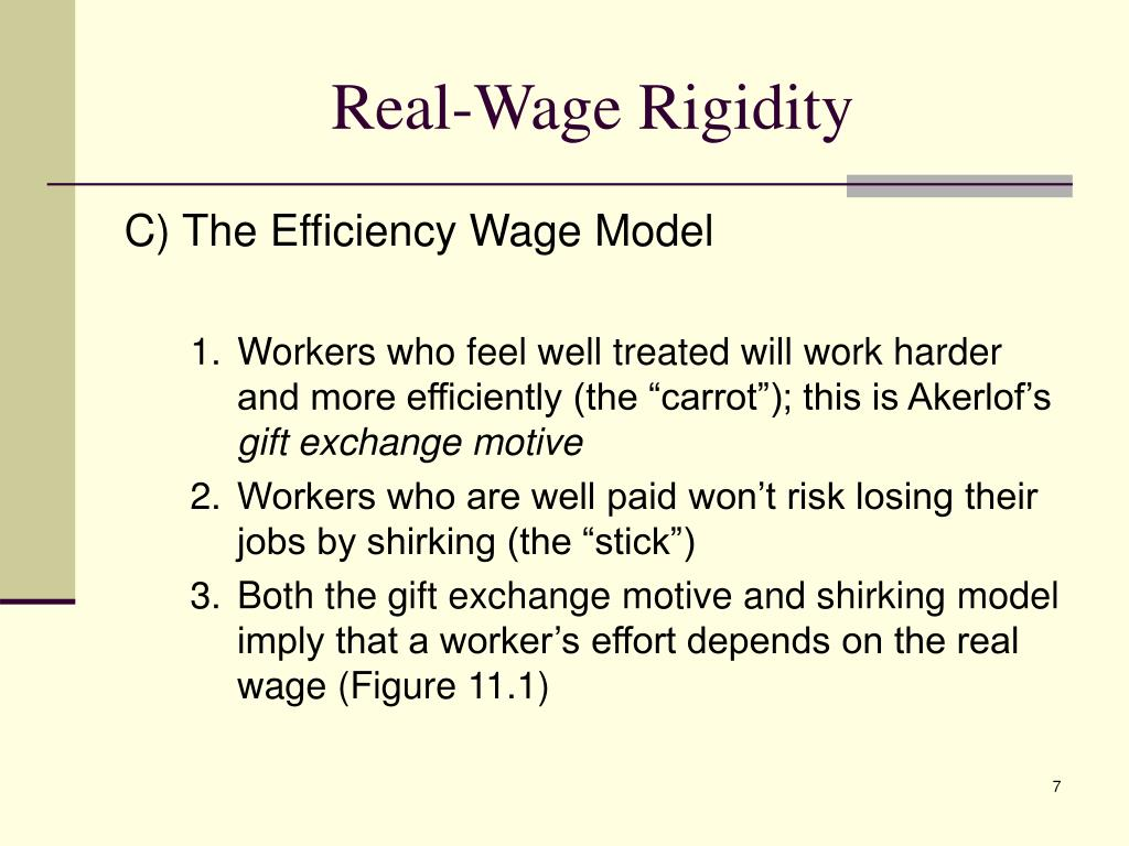 Real-Wage Rigidity