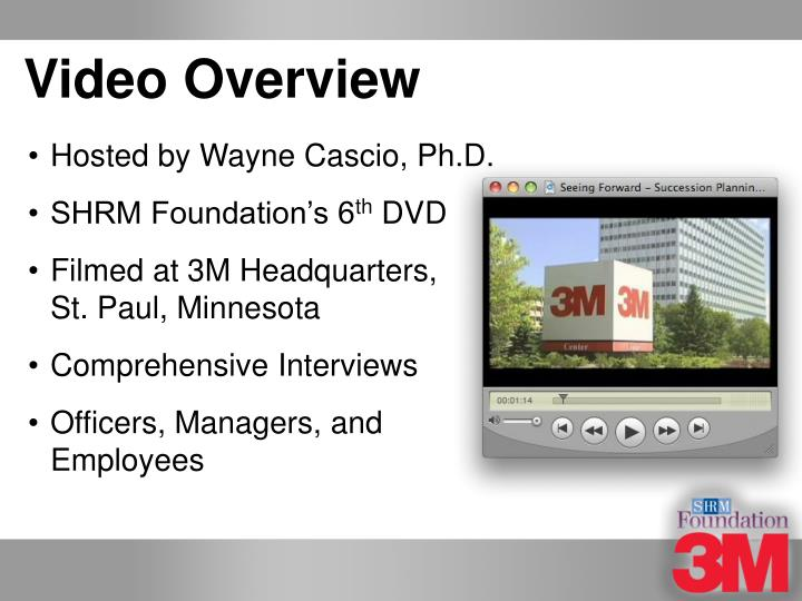 Video Overview