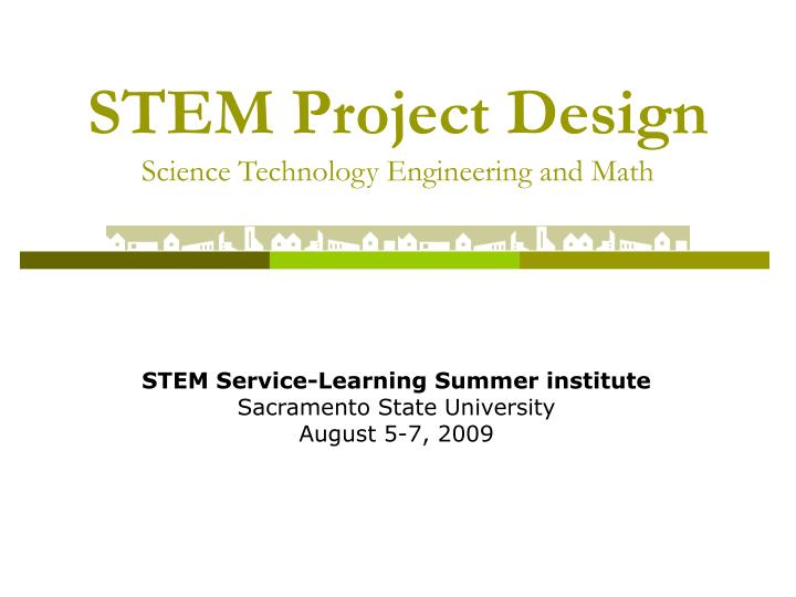 stem project design science technology engineering and math n.