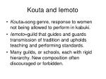 kouta and iemoto