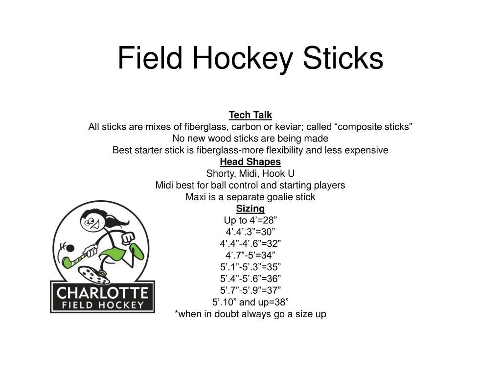 field hockey sticks l.