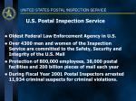 u s postal inspection service