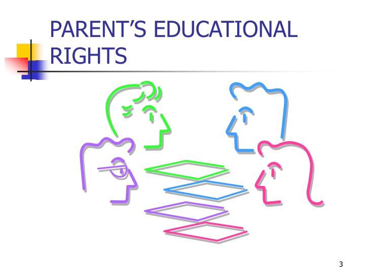 Parent s educational rights