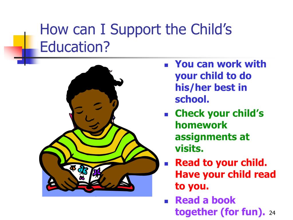How can I Support the Child's Education?