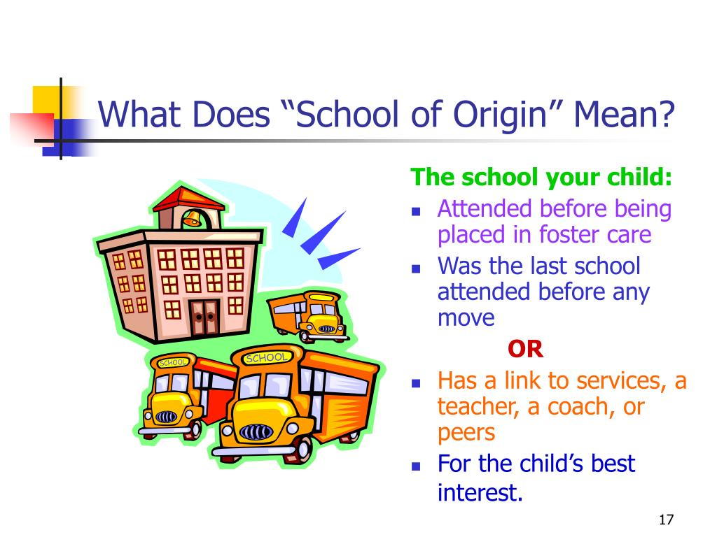 "What Does ""School of Origin"" Mean?"