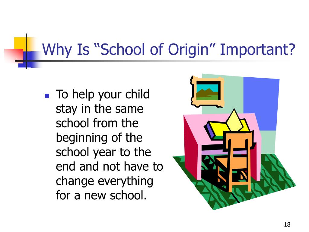 "Why Is ""School of Origin"" Important?"