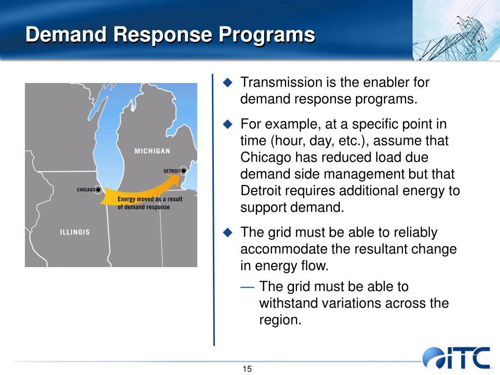 Demand Response Programs