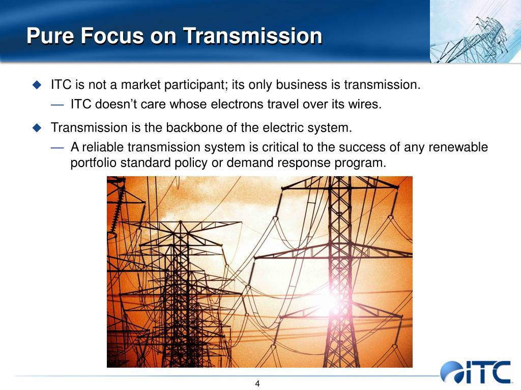 Pure Focus on Transmission