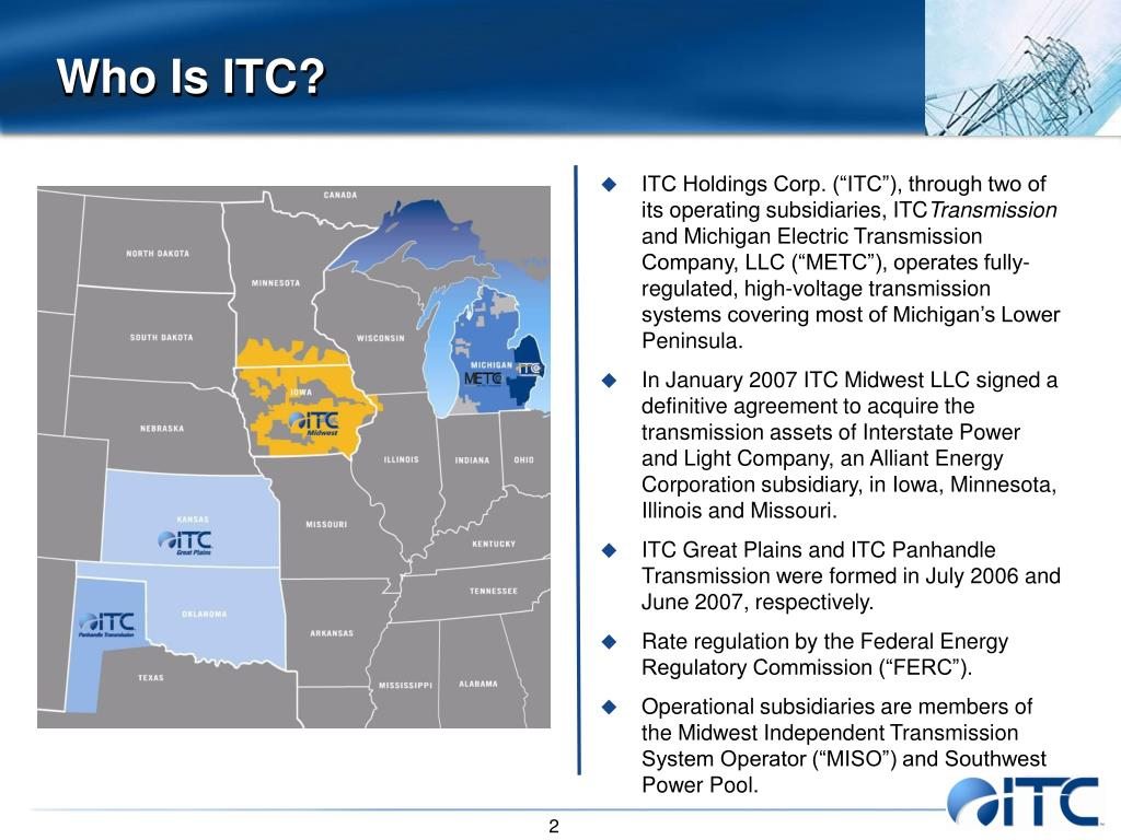Who Is ITC?
