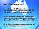 journalism as research10