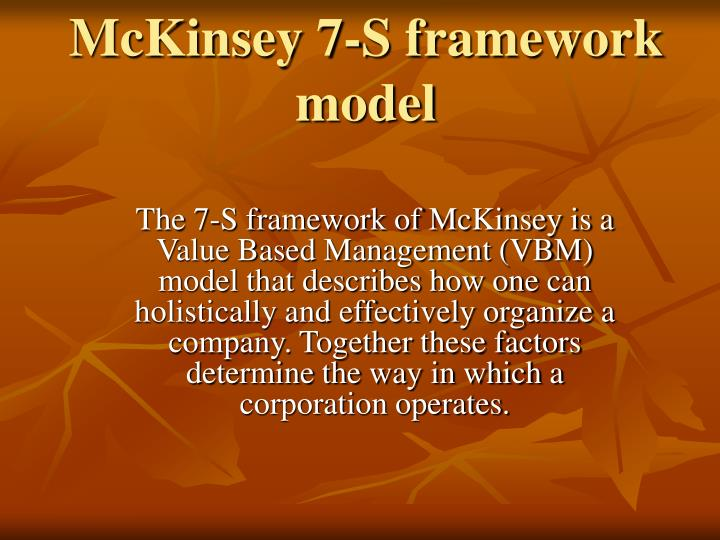 ppt - mckinsey 7-s framework model powerpoint presentation - id:375946, Powerpoint templates