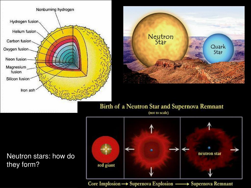 Neutron stars: how do they form?