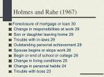 holmes and rahe 196713