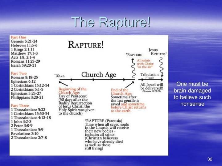 The Rapture!