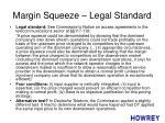 margin squeeze legal standard