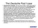the deutsche post i case