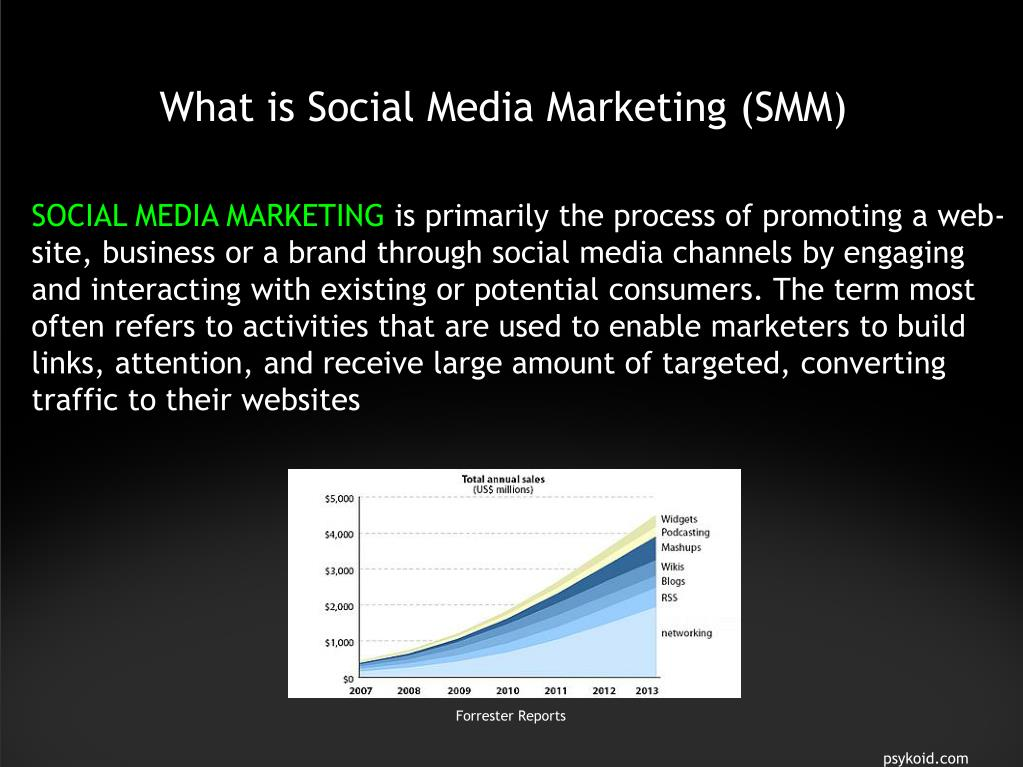 What is Social Media Marketing (SMM)