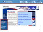 ribbs usps gov
