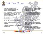 basic boat terms