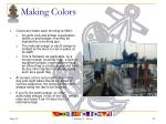 making colors