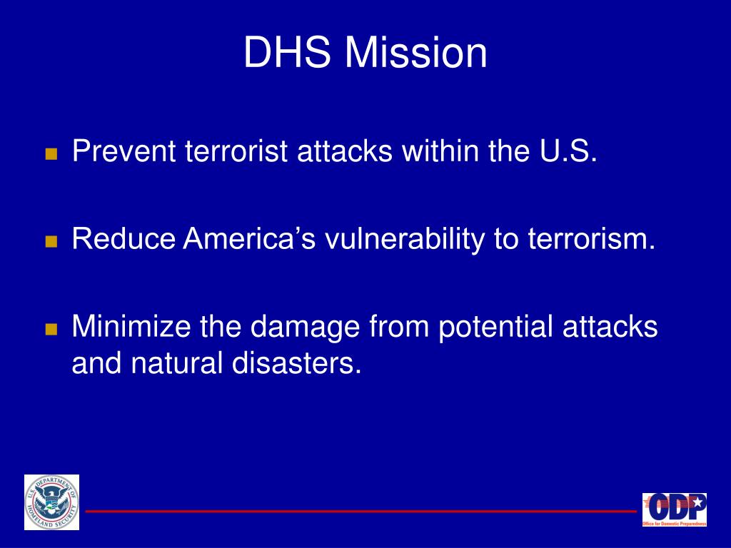 DHS Mission