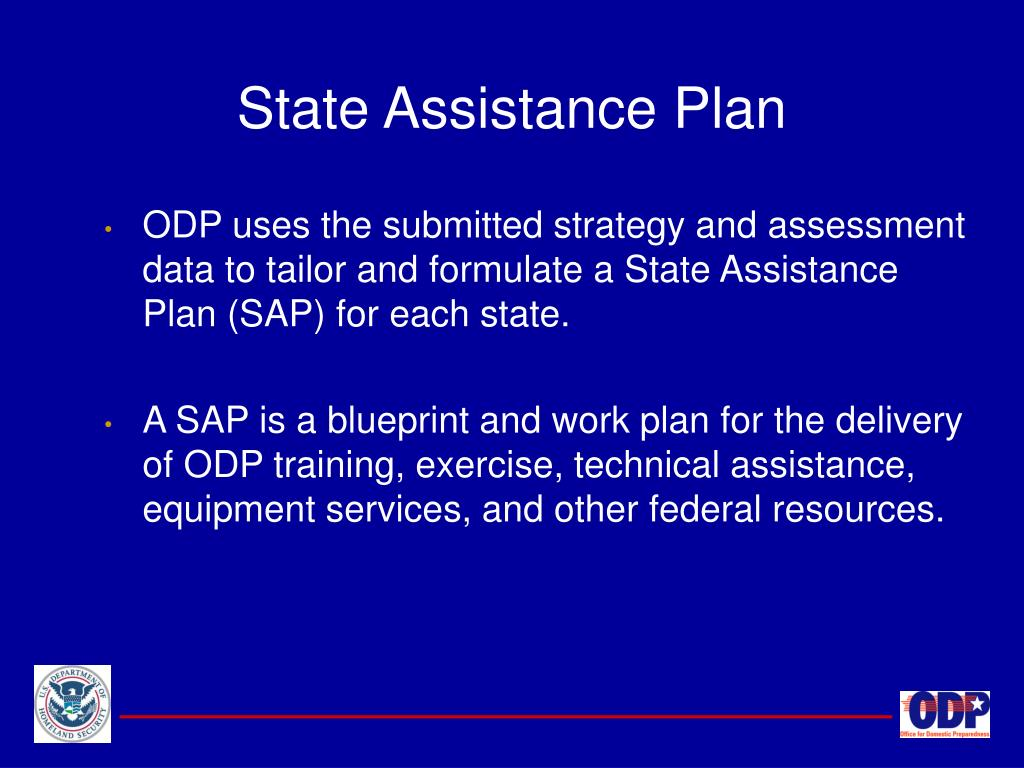 State Assistance Plan