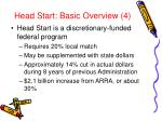 head start basic overview 4