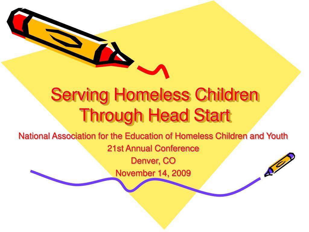 serving homeless children through head start