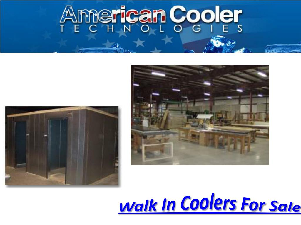 Walk In Coolers For Sale