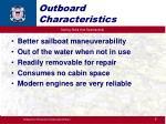 outboard characteristics
