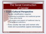the social construction of gender9