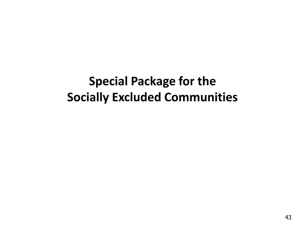 Special Package for the