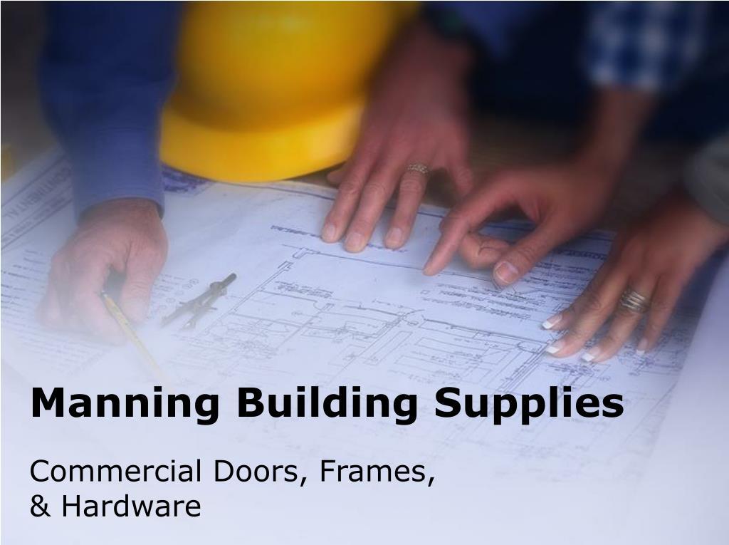 Manning Building Supplies