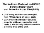 the medicare medicaid and schip benefits improvement and protection act of 2000 bipa