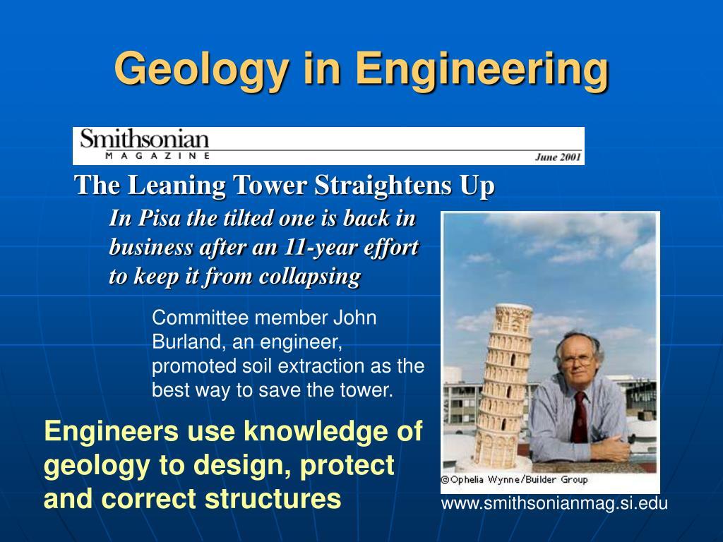Geology in Engineering