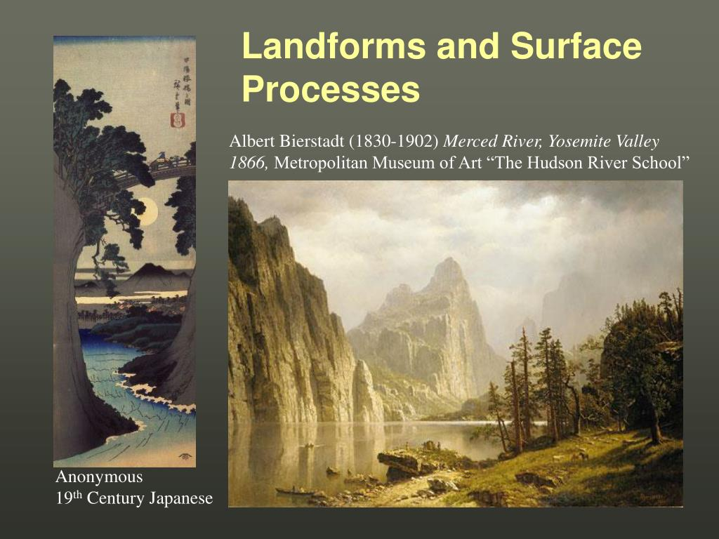 Landforms and Surface Processes