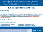 getting started on the route to it success sustainability of health informatics systems2