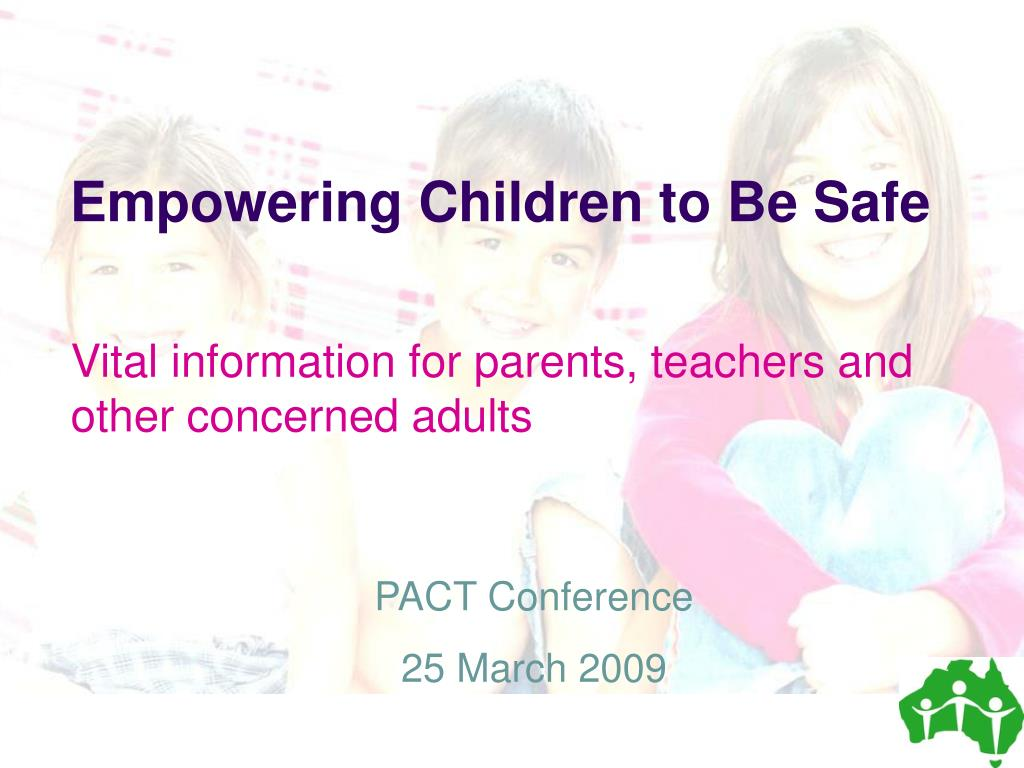 Empowering Children to Be Safe