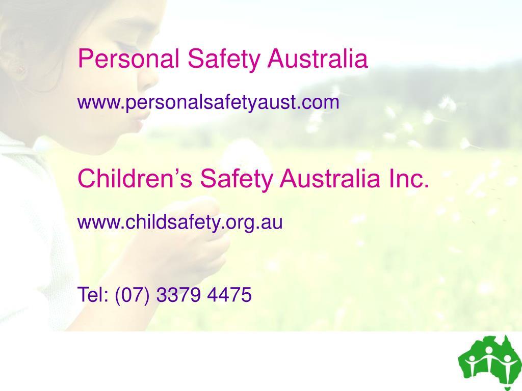 Personal Safety Australia