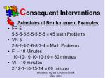 c onsequent interventions40