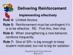 delivering reinforcement75