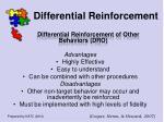 differential reinforcement58