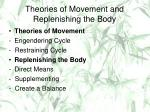 theories of movement and replenishing the body
