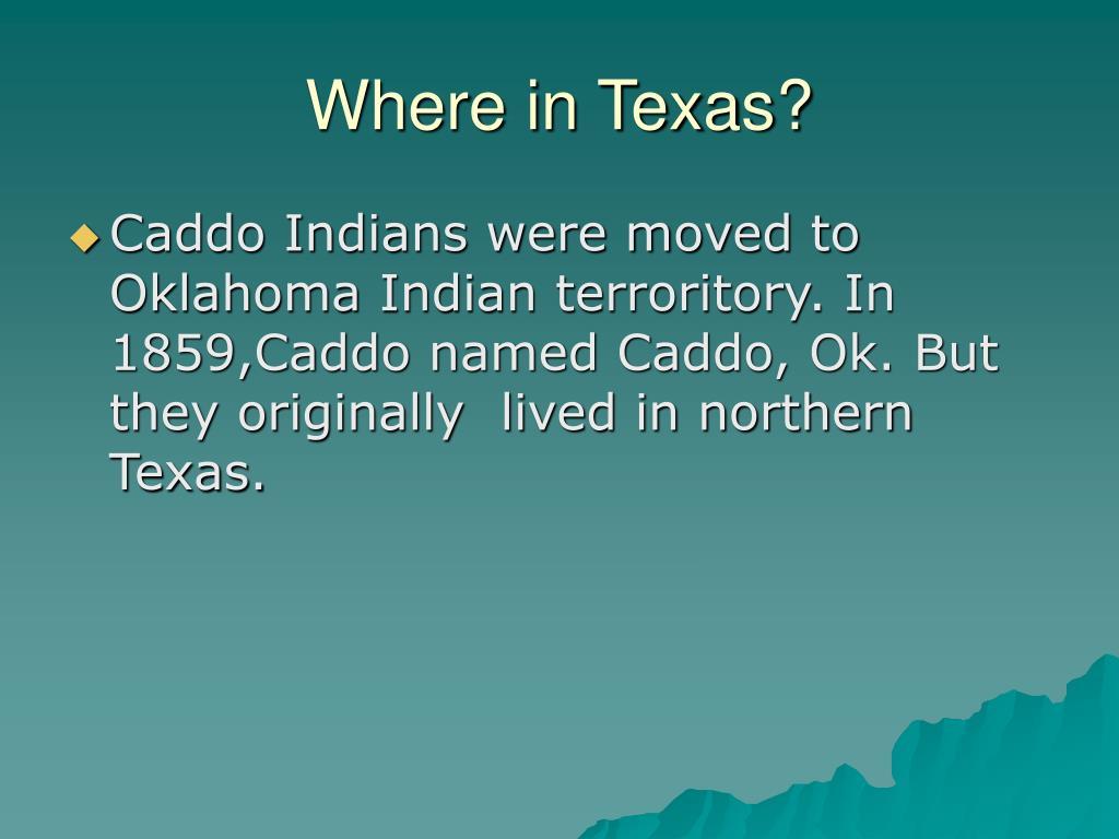 Where in Texas?