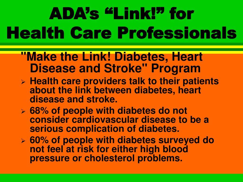 "ADA's ""Link!"" for"