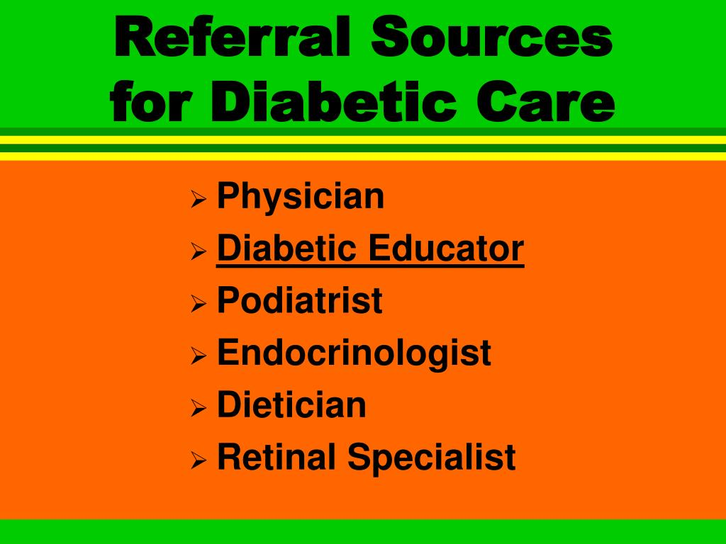 Referral Sources
