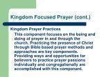 kingdom focused prayer cont23